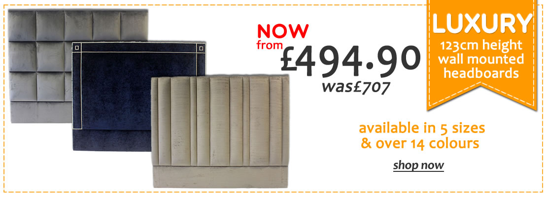 Luxury headboards on offer