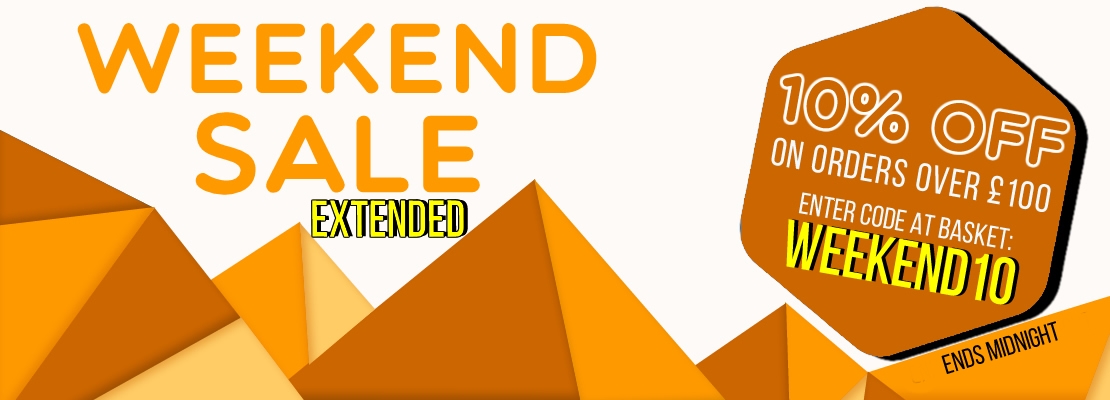 Weekend Sale - 3% and 5% Off