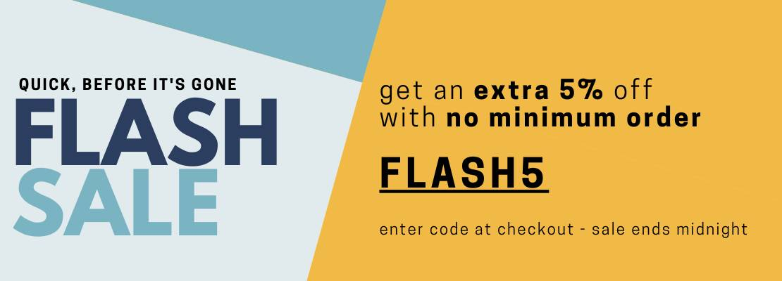 FLASH SALE 5%