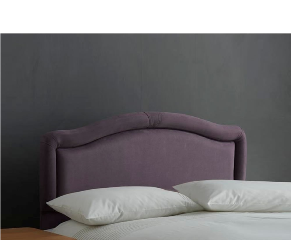 Bayswater faux leather and suede headboard for Fake headboard