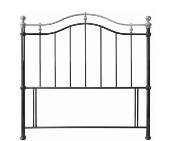 Chloe Nickel Metal Headboard