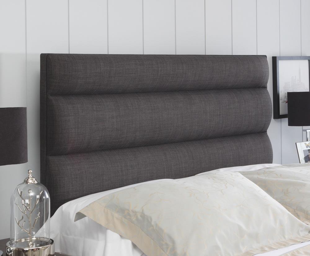 Monza Faux Leather And Suede Headboard Just Headboards