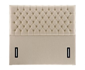 Tiffany Faux Suede Floor Standing Headboard
