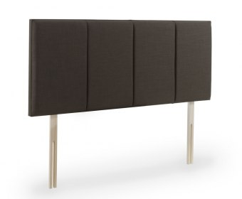Carnation Faux Leather and Suede Upholstered Headboard