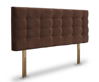 Bluebell Faux Leather and Suede Upholstered Headboard