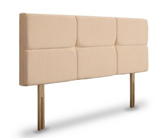 Orchid Faux Leather and Suede Upholstered Headboard