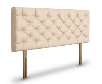 Lavender Fabric Upholstered Headboard