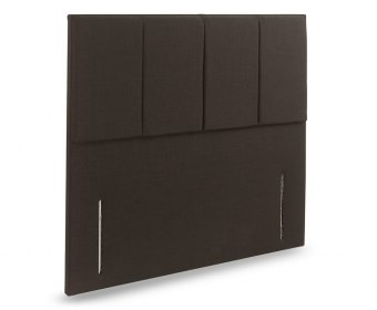 Carnation Faux Leather and Suede Floor Standing Headboard