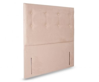 Zinnia Faux Leather Floor Standing Headboard