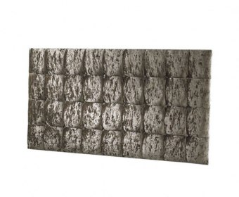 Roman Crush Velvet Upholstered Headboard