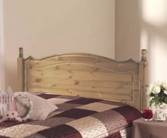 Boston Pine Wooden Headboard