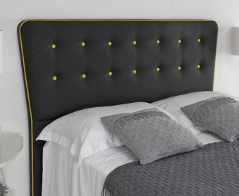 Brooklyn Faux Suede Mix and Match Floor Standing Headboard