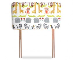 Jungle Childrens Upholstered Headboard
