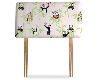 Panda Childrens Upholstered Headboard