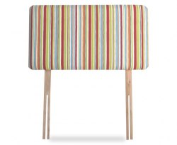 Striped Childrens Upholstered Headboard