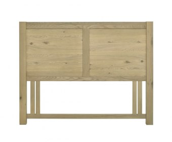 Renzo Aged Oak Panel Headboard