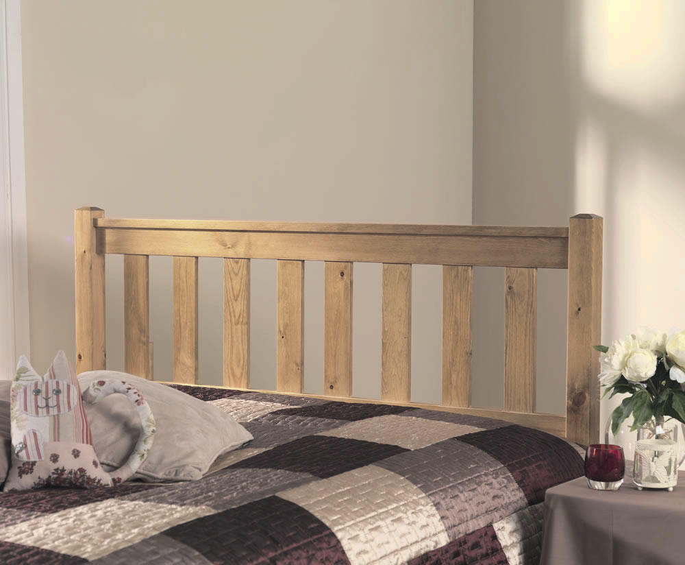 Shaker Slatted Pine Headboard Just Headboards