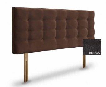 Bluebell 3ft Brown Faux Leather Headboard *Special Offer*