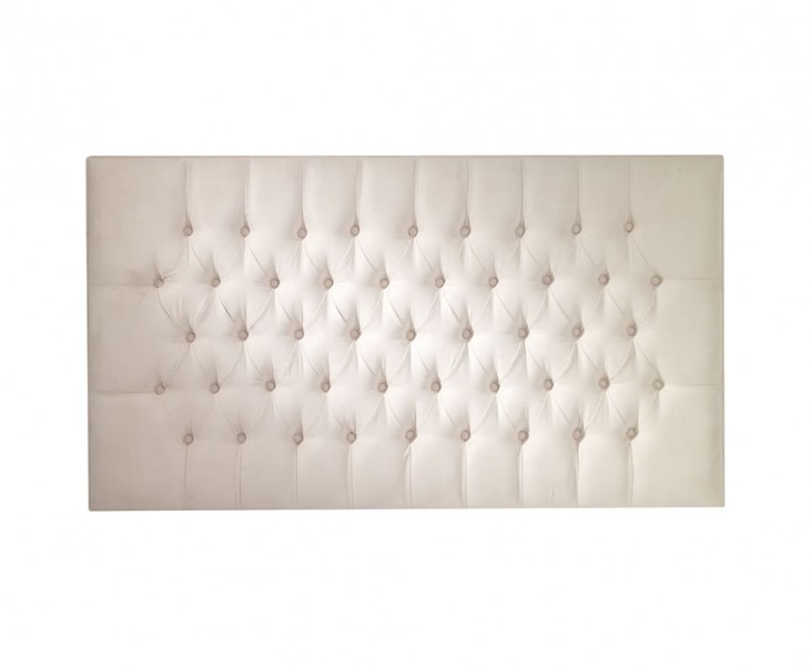 justheadboards.co.uk Calca 4ft 6 White Faux Leather Headboard *Special Offer* double size - 4ft 6 faux leather white