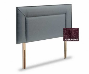 Jodie 3ft Westbury Aubergine Upholstered Headboard *Special Offer*