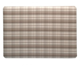 Isadora 5ft Taupe Check Upholstered Headboard *Special Offer*