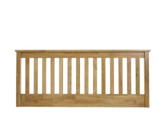 Heather Honey Oak Slatted Headboard