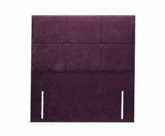 Marlow Faux Leather Floor Standing Headboard