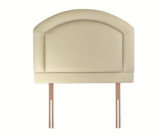 Sienna 3ft Ivory Faux Leather Headboard *Special Offer*