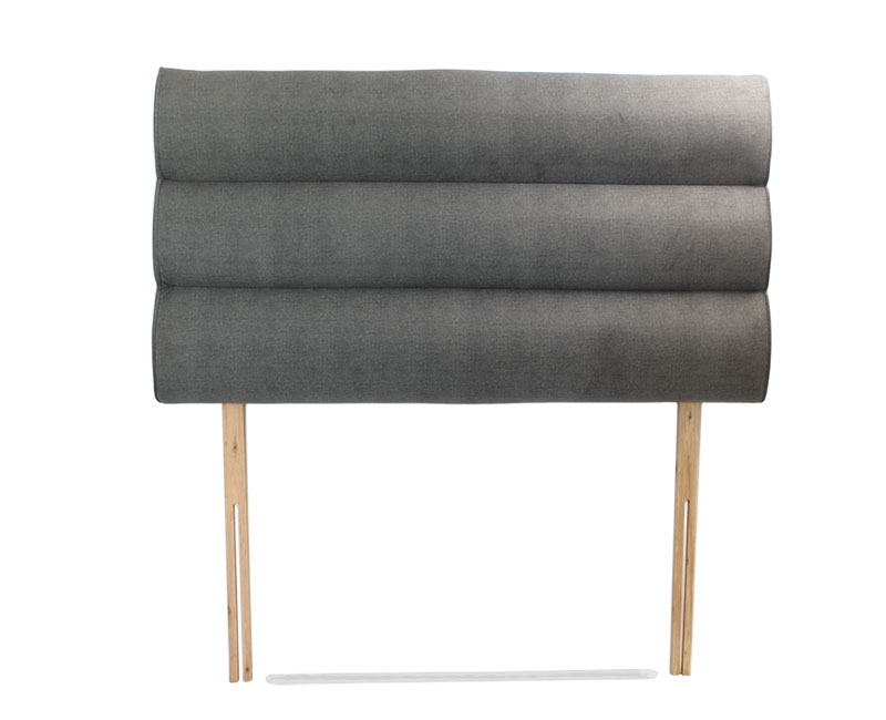 justheadboards.co.uk Marta 4ft6 Soft Touch Luxury Flint Headboard *Special Offer* double size - 4ft 6 soft touch luxury flint