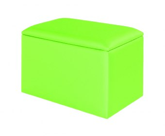 Starburst Childrens Vibrant Upholstered Toy Box
