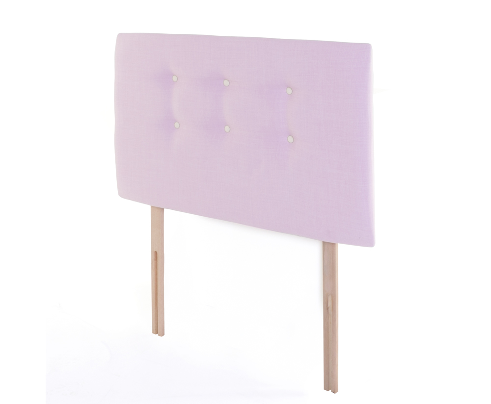 Headboards Eva Childrens Pink Upholstered Headboard small single - 2ft 6