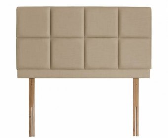 Carlo 5ft Gem Beige Upholstered Headboard *Special Offer*
