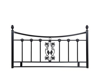 Morganna Black Metal Headboard