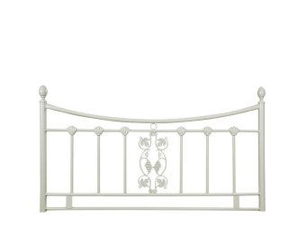 Morganna Beige Metal Headboard