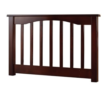 Sandra Walnut Wooden Slatted Headboard