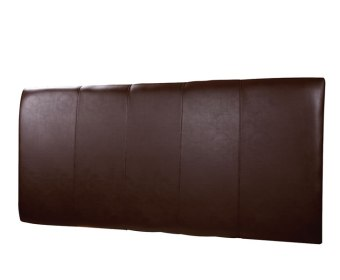 Vulcan Brown Faux Leather Headboard