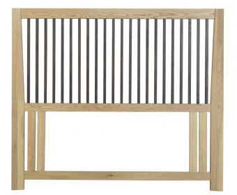 Raven Two-Tone Oak Headboard