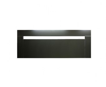 Pasadena 4ft Black Gloss Wooden Headboard *Special Offer*