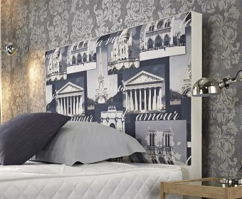 Galileo Upholstered Floor Standing Headboard