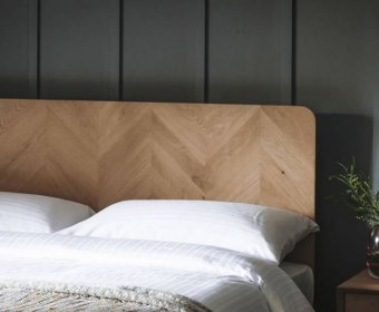 Lazzaretto Oak Headboard
