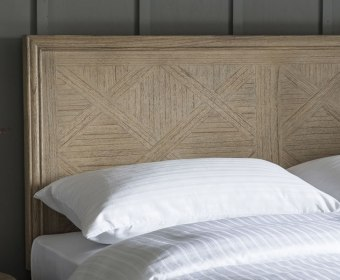 Lovell Weathered Wooden Headboard