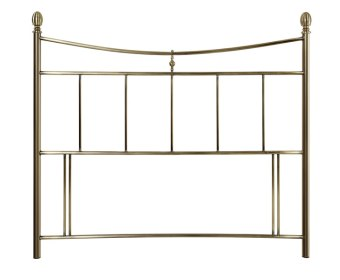 Canterbury Antique Brass Metal Headboard