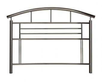 Jupiter Black Nickel Metal Headboard