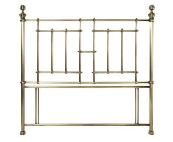 Majesty Antique Brass Metal Headboard