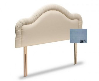 Chloe 3ft Soft Touch Elegance Sky Upholstered Headboard *Special Offer*