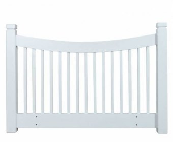 Harley 4ft White Wooden Slatted Headboard *Special Offer*