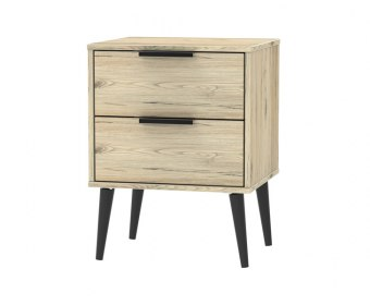 Bennett 2 Drawer Bedside Chest