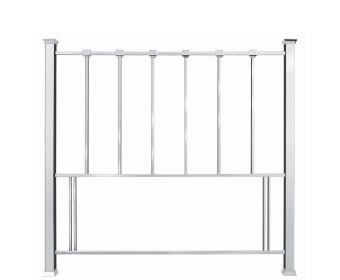 Madison Nickel Metal Headboard