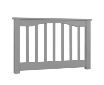 Sandra Grey Wooden Slatted Headboard