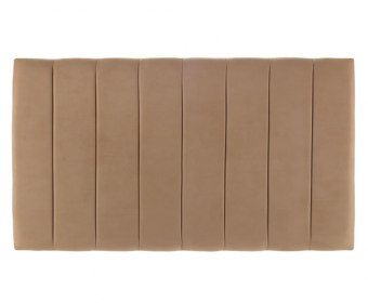 Florence Grand Faux Leather and Suede Headboard